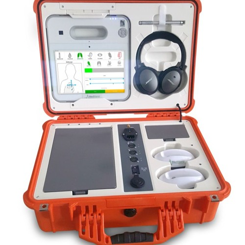 EP 305 Meet MedWand™ Tech Founders, 2020 health tech to support remote exams, stroke patients