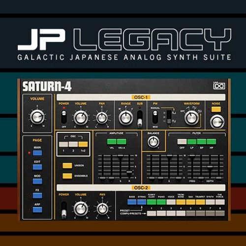 JP Legacy | Synthwave Sunset by Torley