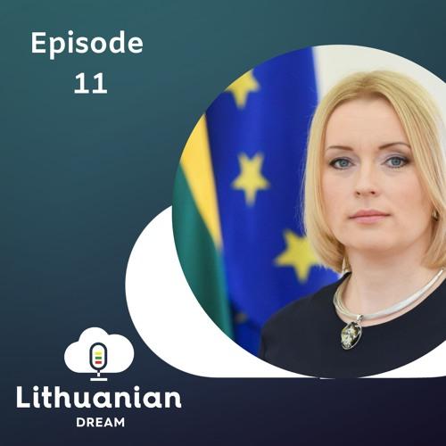 011- Lithuania's role within the EU with Ambassador to the EU Jovita Neliupšienė