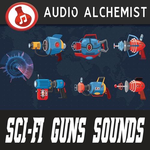 Sci - Fi Guns Sounds (sound list on description)
