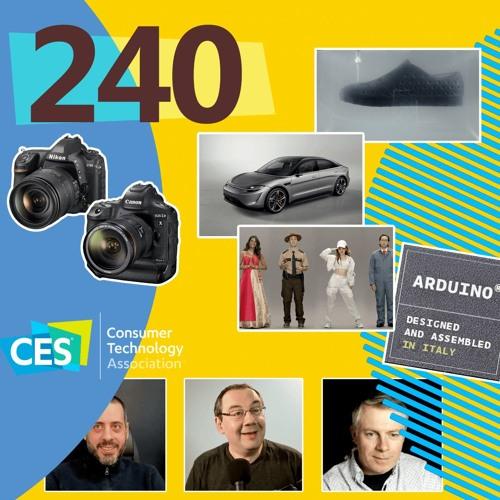 CES 2020, Arduino Pro, Tradfri, Ballie, Neon, Vision-S, patate, ... ...[Les Technos | Podcast #240]