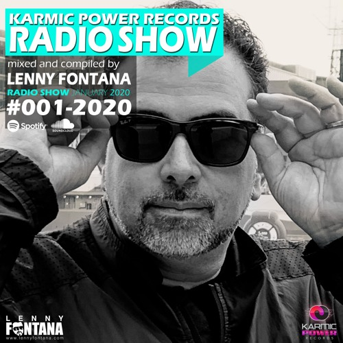#001 Karmic Power Records Radio Show mixed by Lenny Fontana January 2020 (House & Disco Music)