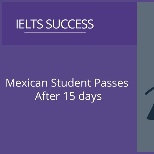 Mexican Student Passes After 15 Days