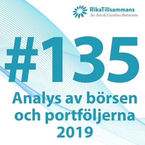 #135 - Uppföljning av Stockholmsbörsen, portföljerna & LYSA 2019 | Tre vanliga misstag att undvika