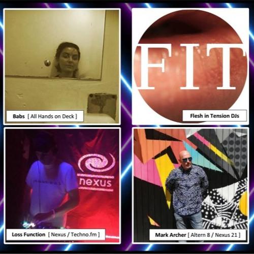 Nexus Radio >21< feat. Babs, Kessie + Mandy, Loss Function & Mark Archer - LIVE on Techno.Fm