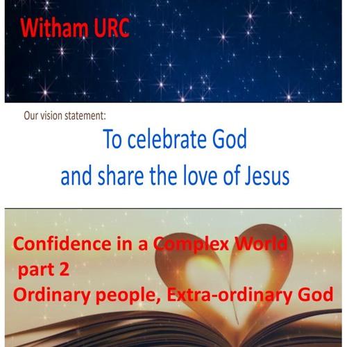 Ordinary People, Extra - Ordinary God. Part 2: 1 Peter ch 1 vs 1-2, Jeremiah ch 29 vs 4-7