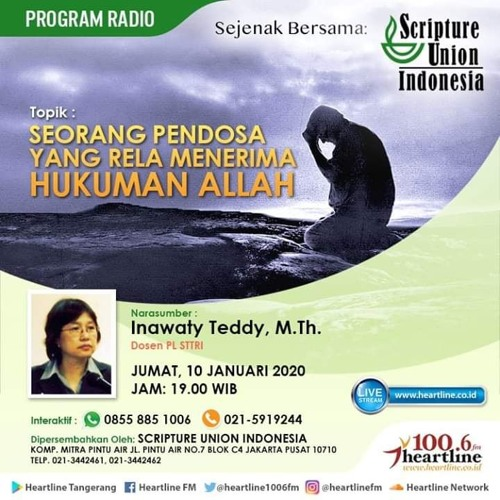 Seorang Pendosa yang Rela Mererima Hukuman Allah   Scripture Union Indonesia 10 Januari 2020