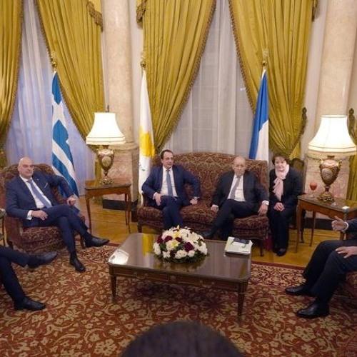 Πενταμερής συνάντηση των Υπουργών Εξωτερικών στο Κάιρο - H στρατιωτική ανάμειξη Τουρκίας στη Λιβύη