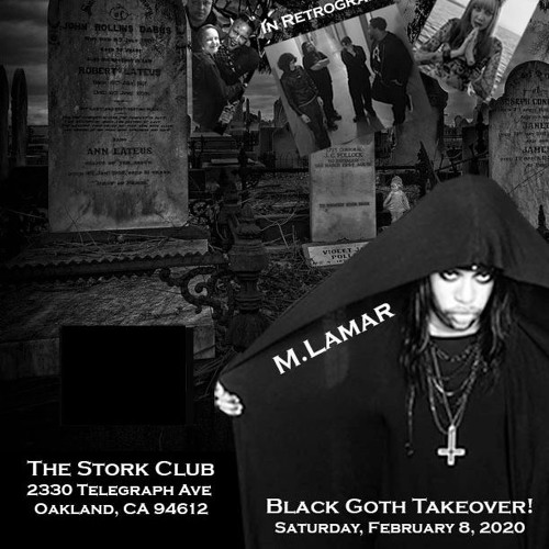 Interview with negrogothic artist M Lamar