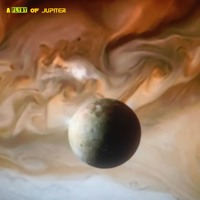 A Flyby Of Jupiter Artwork