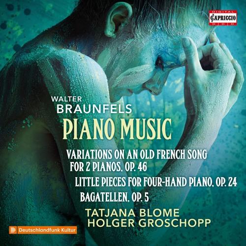 Walter Braunfels: Variations for 2 Pianos