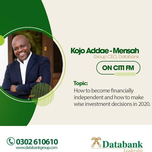 CitiFm interview with Kojo Addae-Mensah