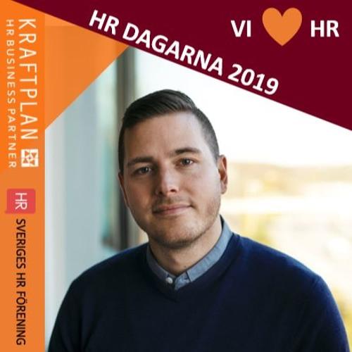 Fabian Åhlin - Vinnare av årets HR-medarbetare 2019