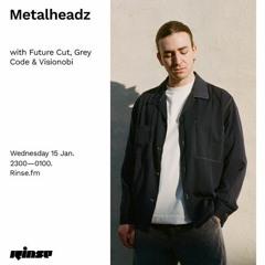 Grey Code Guest Mix - Rinse FM [Metalheadz show 15/01]
