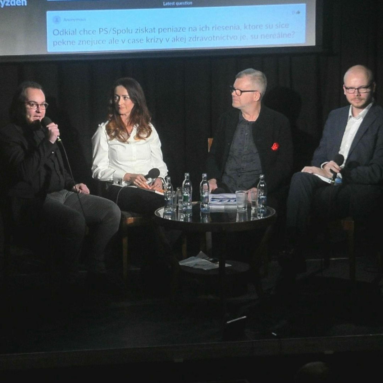 Predvolebná diskusia .týždňa: Čo so slovenským zdravotníctvom?