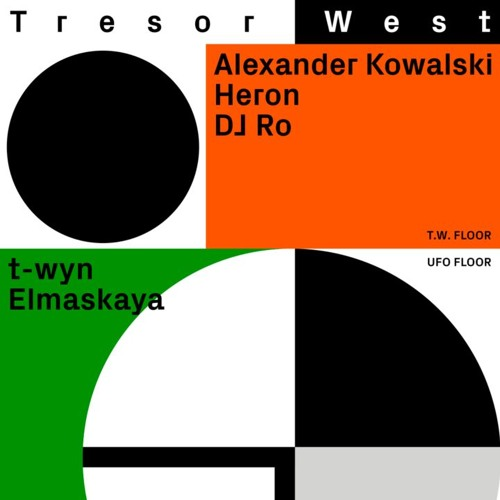 Heron @ Tresor.West, Dortmund - 10th January 2020
