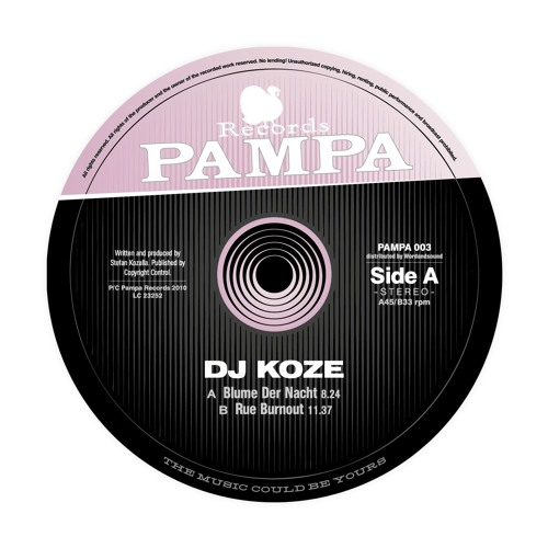 DJ Koze - Blume der Nacht