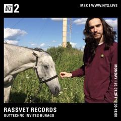 RASSVET x NTS monthly show w/ Burago