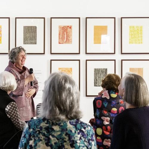 Tuesday Talks - Artistic Director, Nici Cumpston makes closing remarks on Tarnanthi