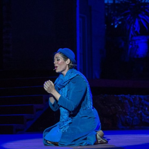 """Aubrey Trujillo sings Micaela in Pacific Opera Project's """"Carmen"""" at the Ford Theatres"""
