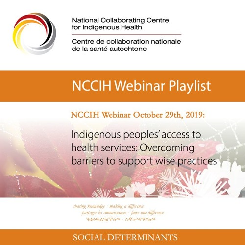 NCCIH Webinar Indigenous peoples' access to health services