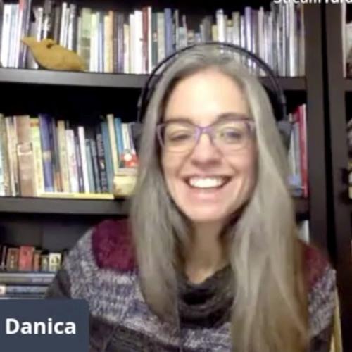 Storyteller Danica Lorer on Writers Showcase with Christie Stratos