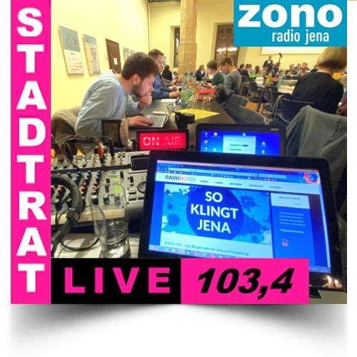 Hörfunkliveübertragung (Teil 2) der 7. Sitzung des Stadtrates der Stadt Jena am 22.01.2020