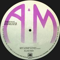 ALLAN KEEN - My Love's Eyes Artwork
