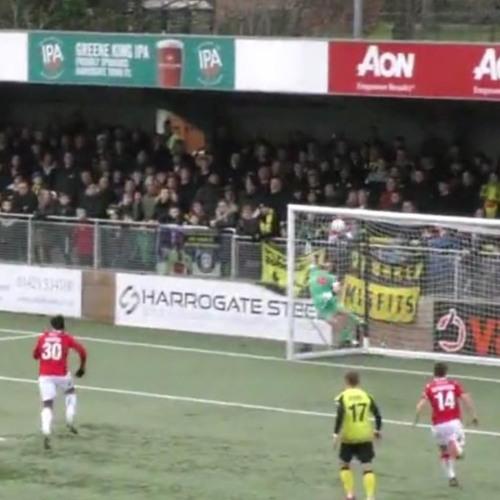 Harrogate Town 0 Wrexham AFC 2