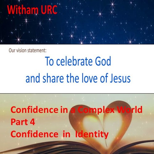 Confidence In Identity Part 4. Confidence in Identity. 1 Peter ch2 vs 4 - 10