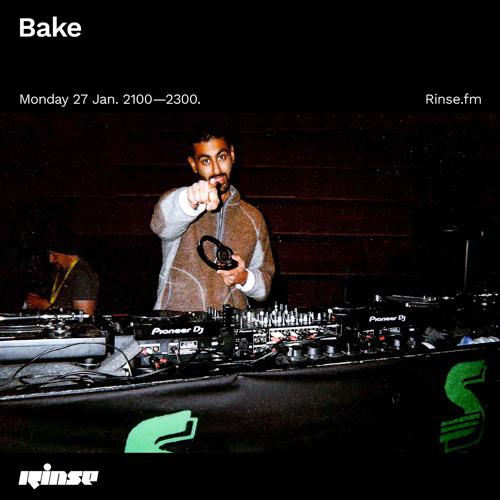 Bake - 27 January 2020