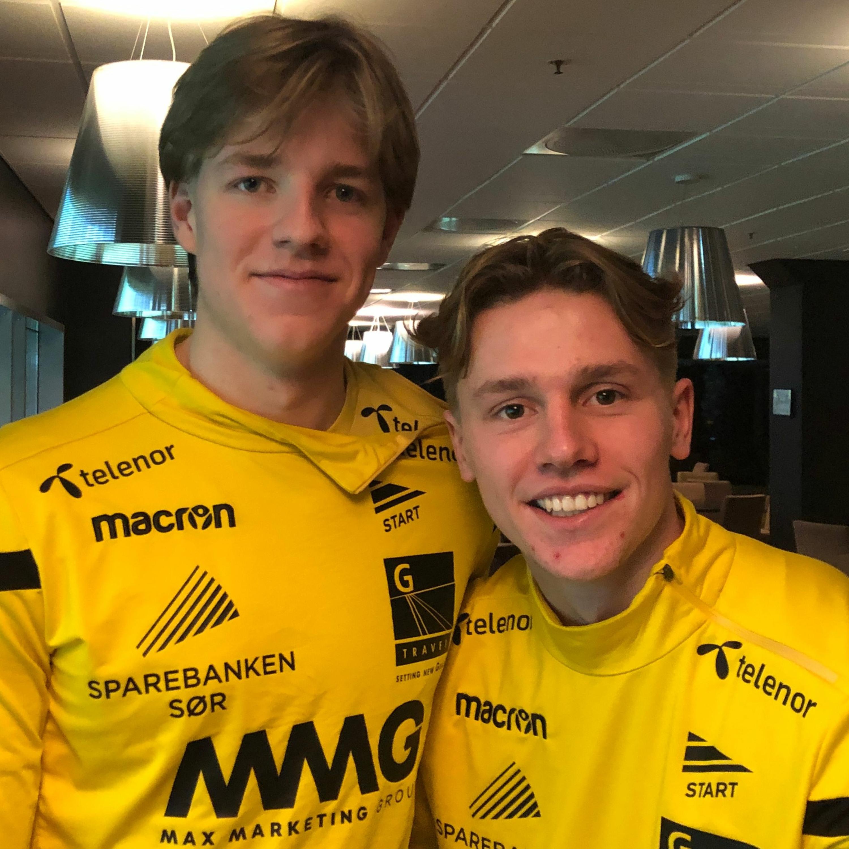 Jesper Daland og Mikael Ugland -