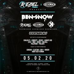 Rebel Bass x Helix pres. BEN SNOW Promo Mix [MOZ]