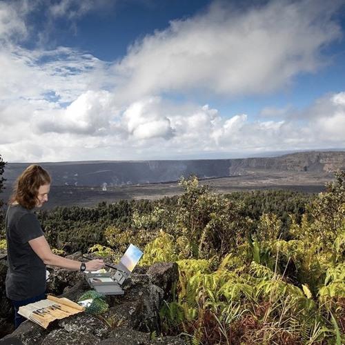 Hawaii Volcanoes Artist-in-Residence Dawn Waters Baker on Big Blend Radio