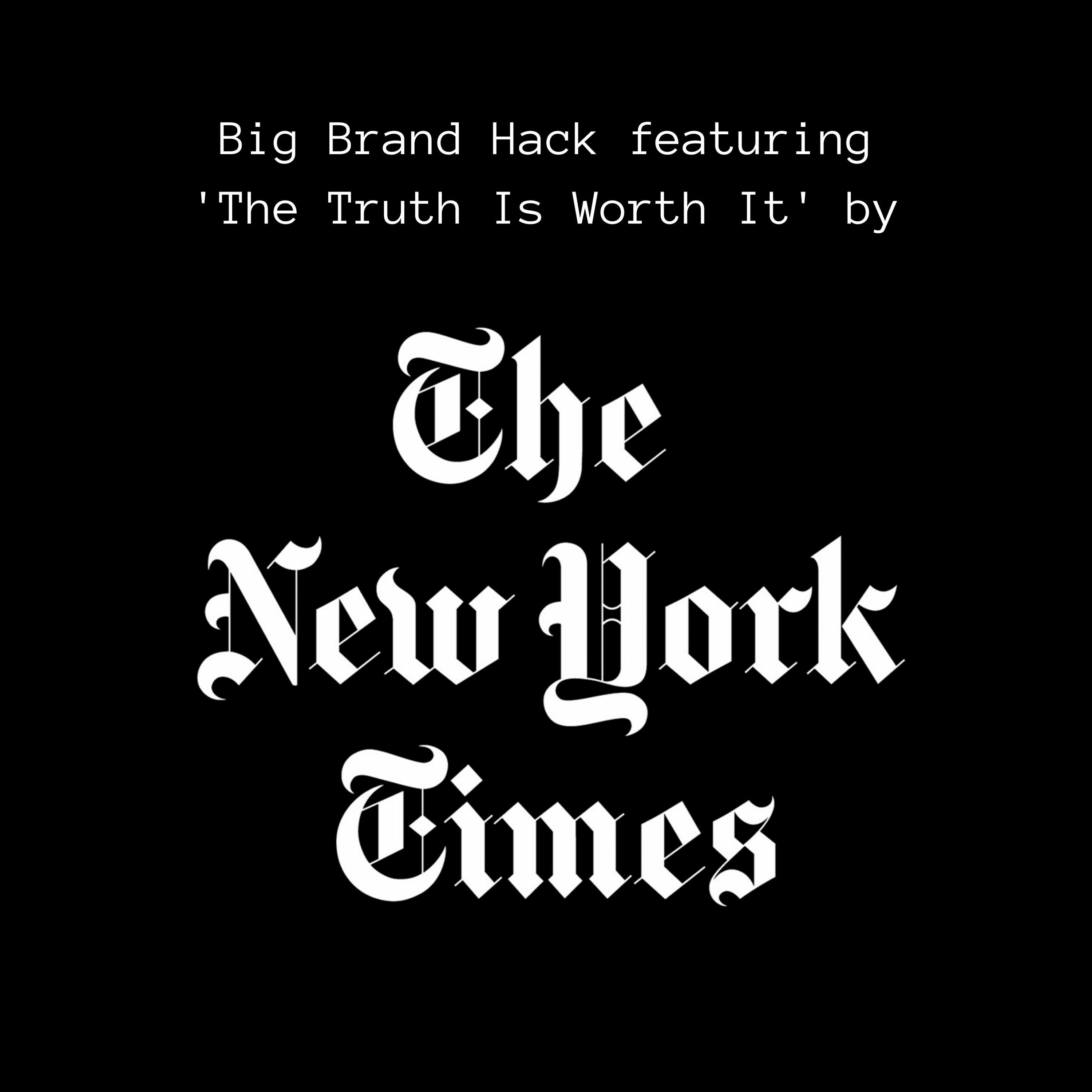 Episode NY Times: Classic Storytelling In The Digital Age