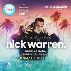 Live at The Soundgarden Mute MDQ w Nick Warren 19.01.2020