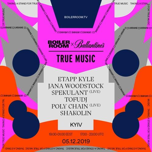 Spekulant   Boiler Room x Ballantine's True Music: Kyiv 2019