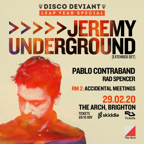 Disco Deviant x The Unity Agency mix by Pablo Contraband