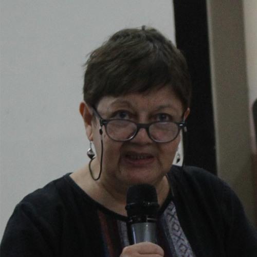 Joana Cariño, co-chairperson of Sandugo