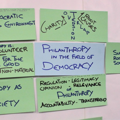 Fundraising and Philanthropy for democracy-related projects in Europe