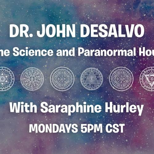 Dr. John DeSalvo Science and Paranormal Hour guest Lon Milo DuQuette