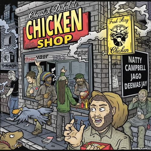 Chopstick Dubplate - Chicken Shop EP