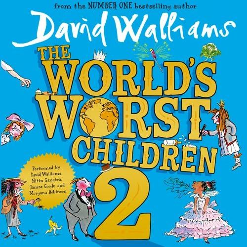 Spoiled Brad, By David Walliams, Read by David Walliams, Morgana Robinson