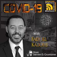 COVID-19 with Fadhel Kaboub Artwork