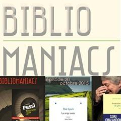 Bibliomaniacs épisode 20 Octobre 2015