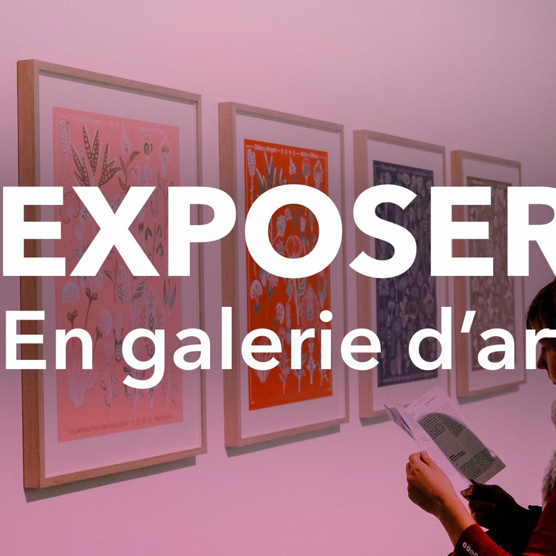 JE VOUDRAIS EXPOSER EN GALERIE D'ART, MAIS...