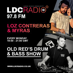 Old Red's Drum & Bass radio show Hosted by Loz Contreras & Myras on LDC Radio