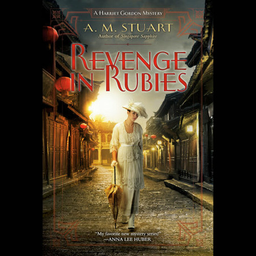 Revenge in Rubies by A. M. Stuart, read by Katharine Lee McEwan