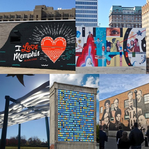 Murals in Memphis