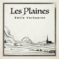 Les Plaines - Emile Verhaeren